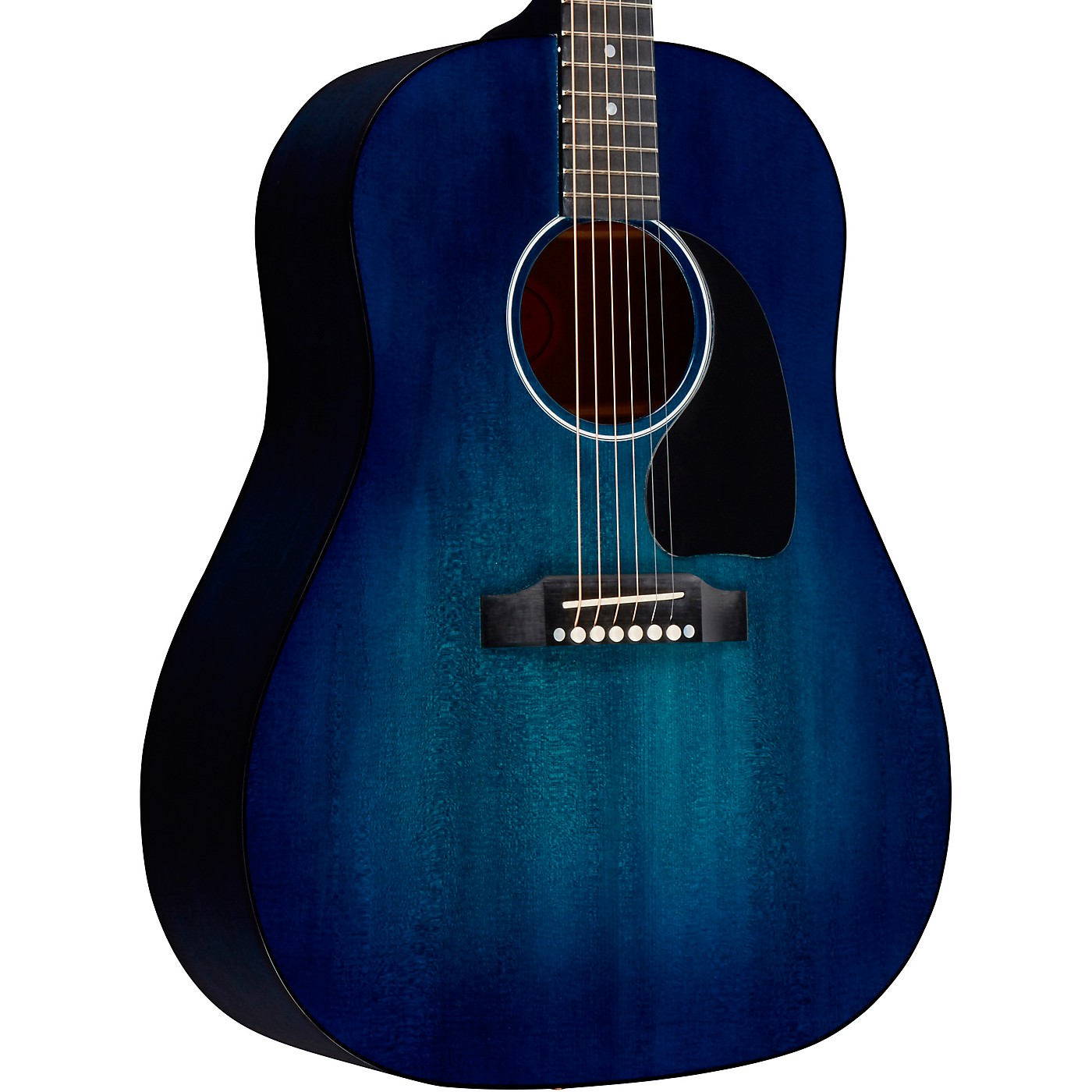 Gibson 2018 Limited Edition J-45 Denim Blue Acoustic-Electric Guitar thumbnail