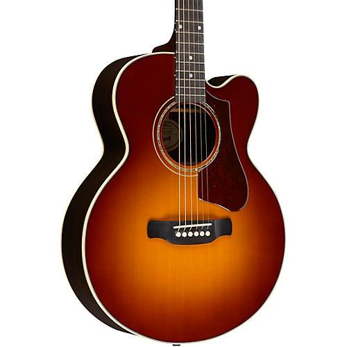 Gibson 2018 Parlor Rosewood Avant Garde Burst Acoustic-Electric Guitar thumbnail
