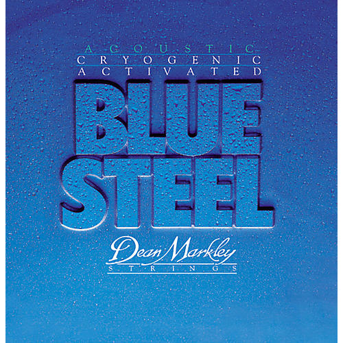Dean Markley 2034 Blue Steel Cryogenic Light Acoustic Guitar Strings thumbnail