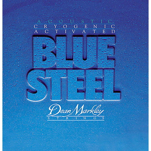 Dean Markley 2037 TMD Blue Steel Cryogenic Acoustic Guitar Strings thumbnail