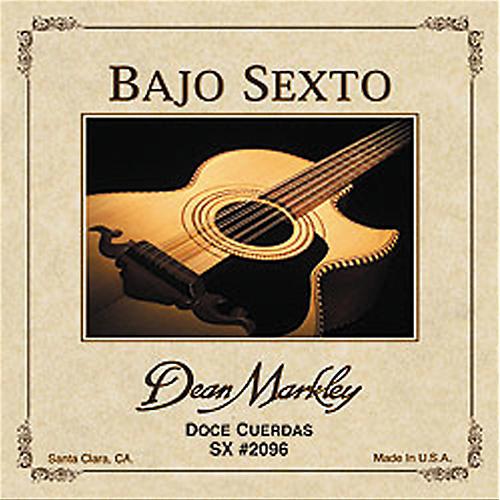 Dean Markley 2096 Bajo Sexto SX 12-String Acoustic Guitar Strings thumbnail