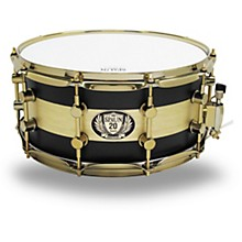 Spaun 20th Anniversary Brass Snare, 14 x 6.5 in.