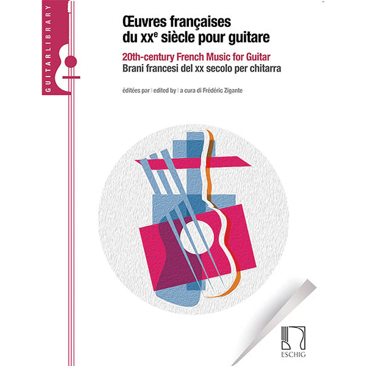 Durand 20th Century French Music for Guitar Max Eschig Series Softcover thumbnail