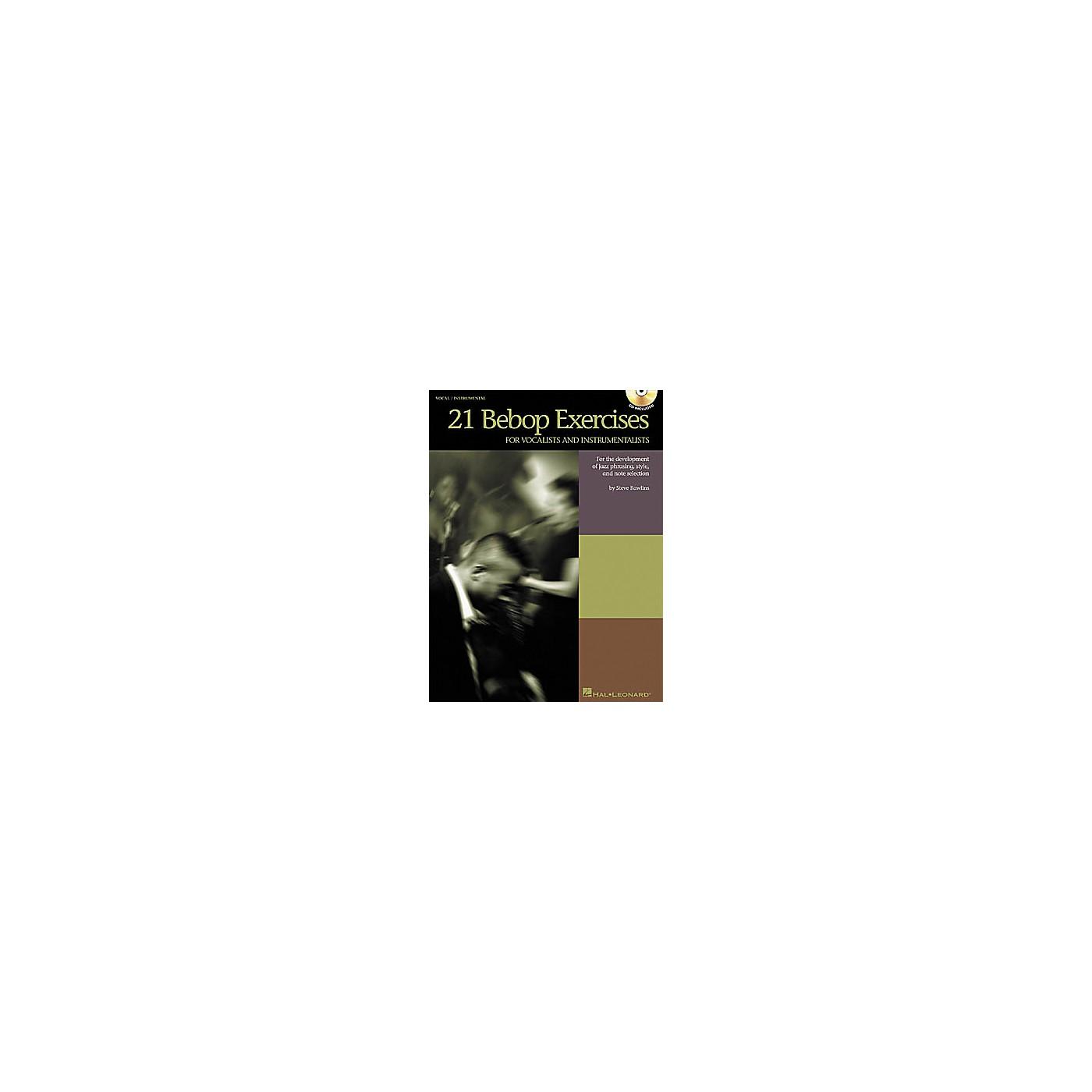 Hal Leonard 21 Bebop Exercises Book/CD thumbnail