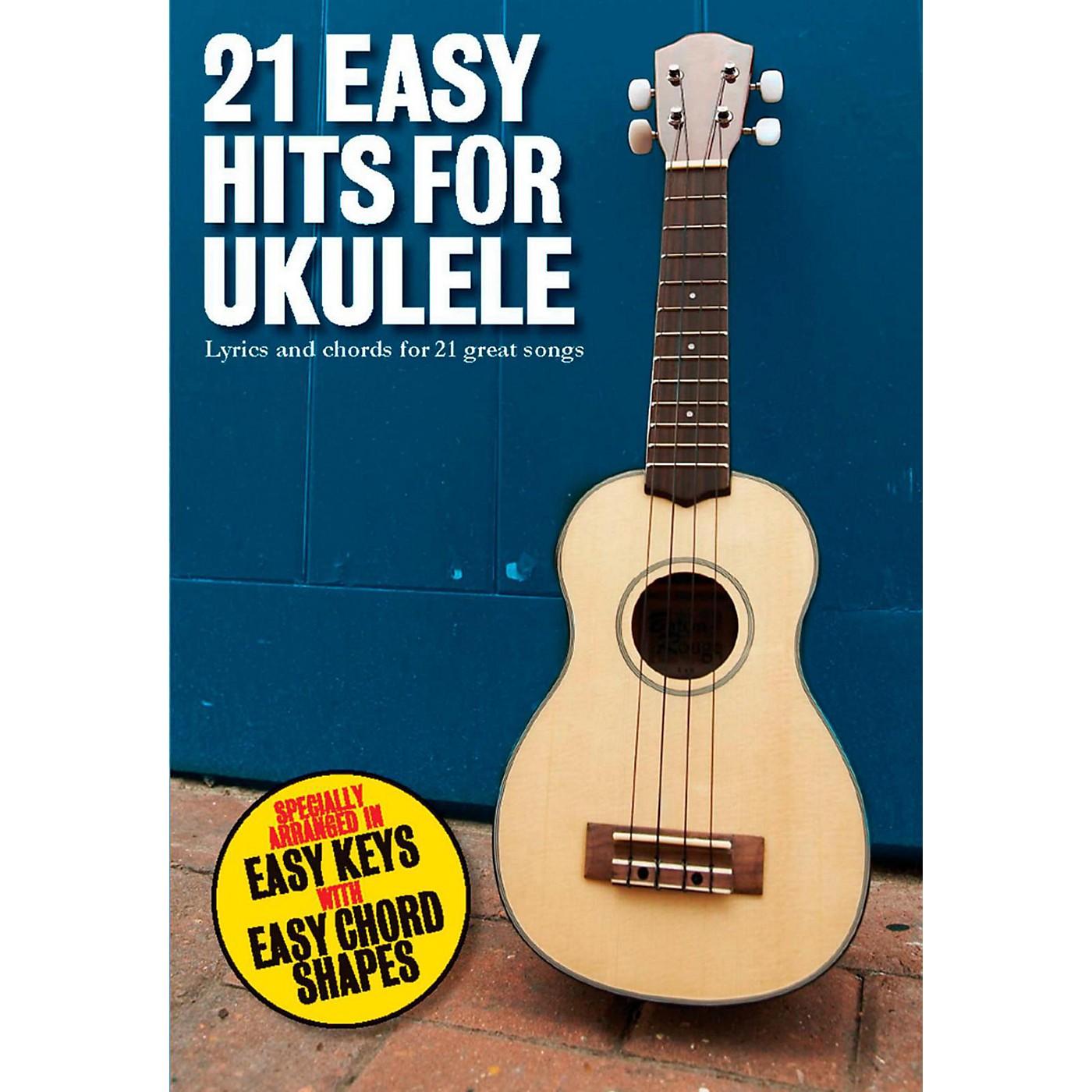 Music Sales 21 Easy Hits For Ukulele thumbnail