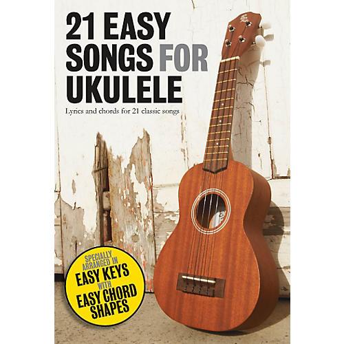 Music Sales 21 Easy Songs For Ukulele thumbnail
