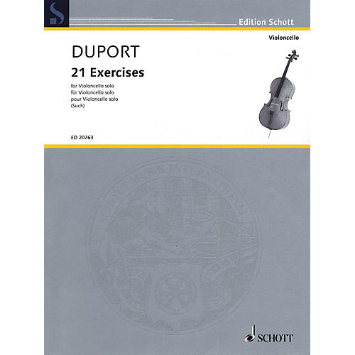 Schott 21 Exercises (for Cello Solo) String Series Softcover thumbnail