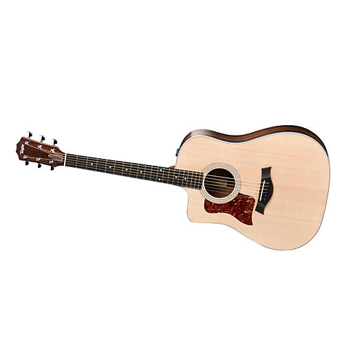 Taylor 210ce-L Rosewood/Spruce Dreadnought Left-Handed Acoustic-Electric Guitar thumbnail