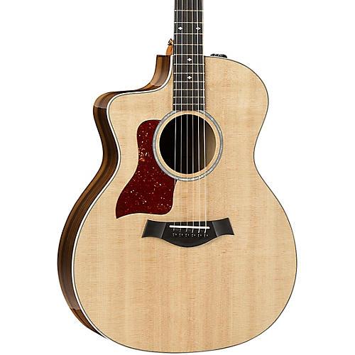 Taylor 214ce-K DLX Grand Auditorium Left-Handed Acoustic-Electric Guitar thumbnail