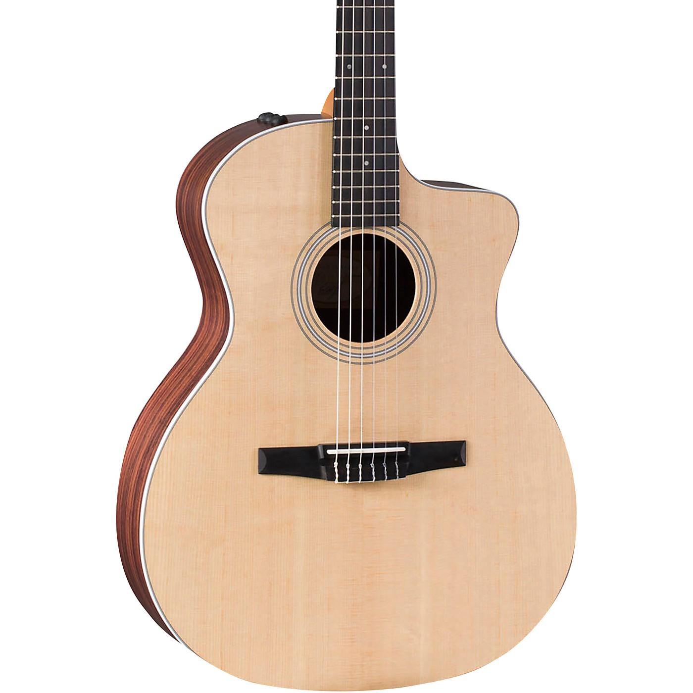 Taylor 214ce-N Grand Auditorium Nylon String Acoustic-Electric Guitar thumbnail