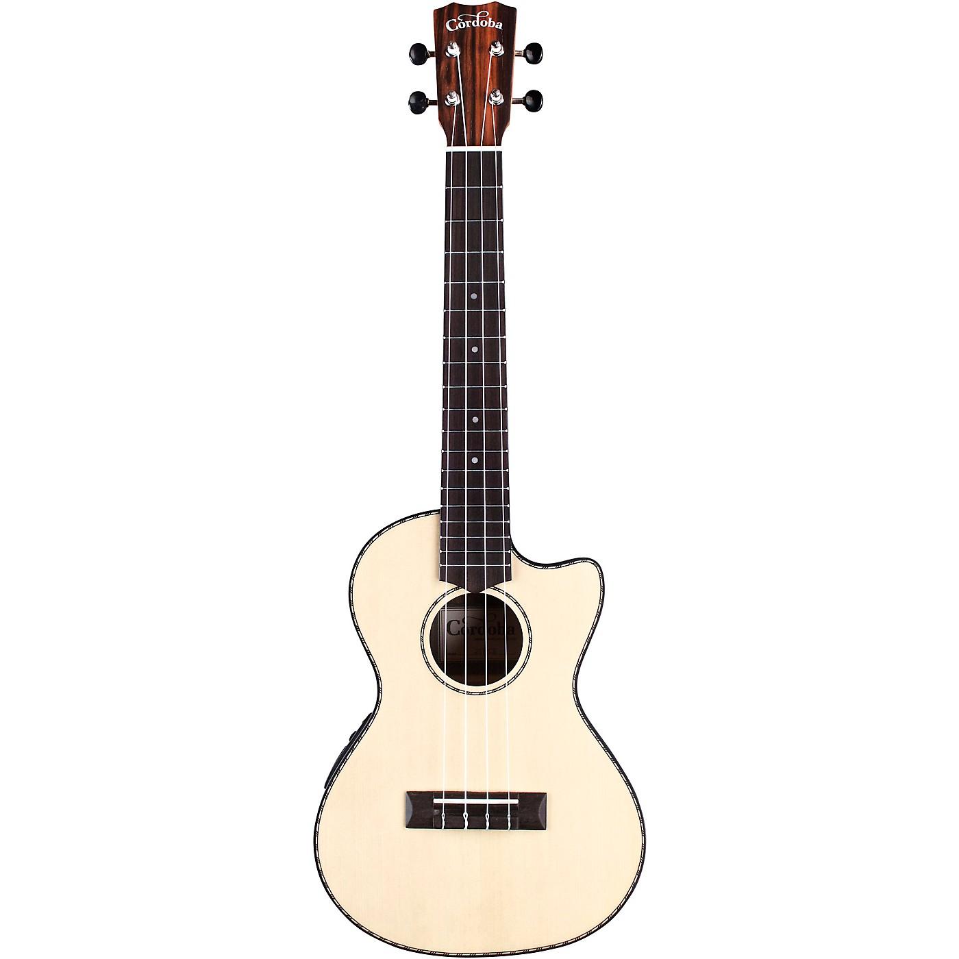 Cordoba 21T-CE Tenor Acoustic-Electric Ukulele thumbnail