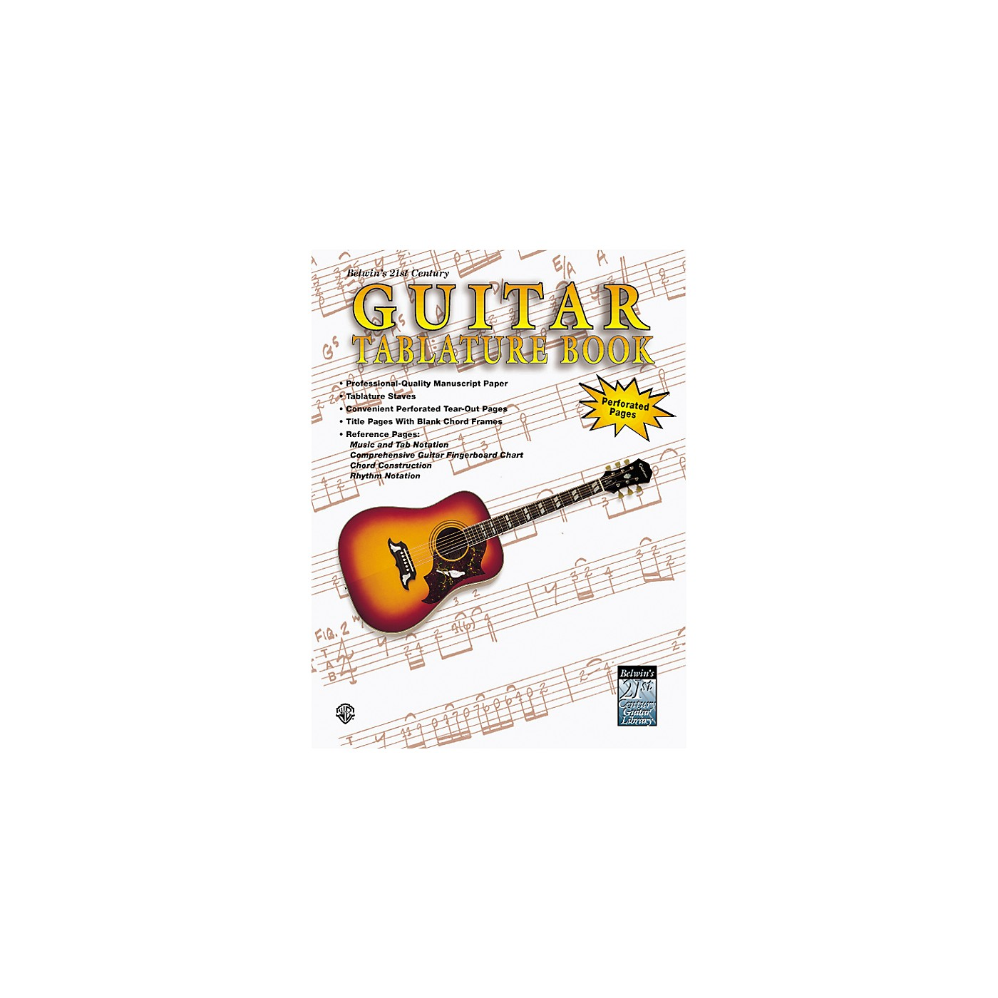 Alfred 21st Century Guitar Tablature Paper Book thumbnail