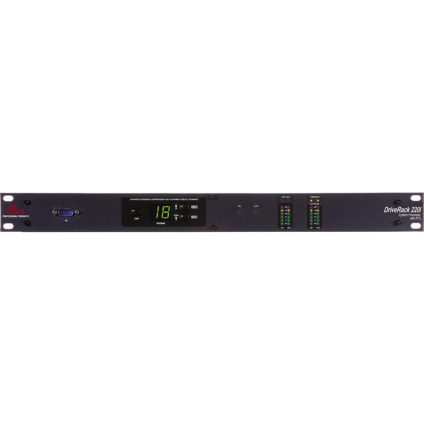dbx 220i 2X2 Loudspeaker Management System with Display thumbnail