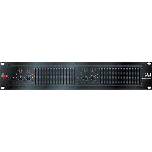 dbx 2215 Dual-Channel 15-Band Equalizer/Limiter thumbnail