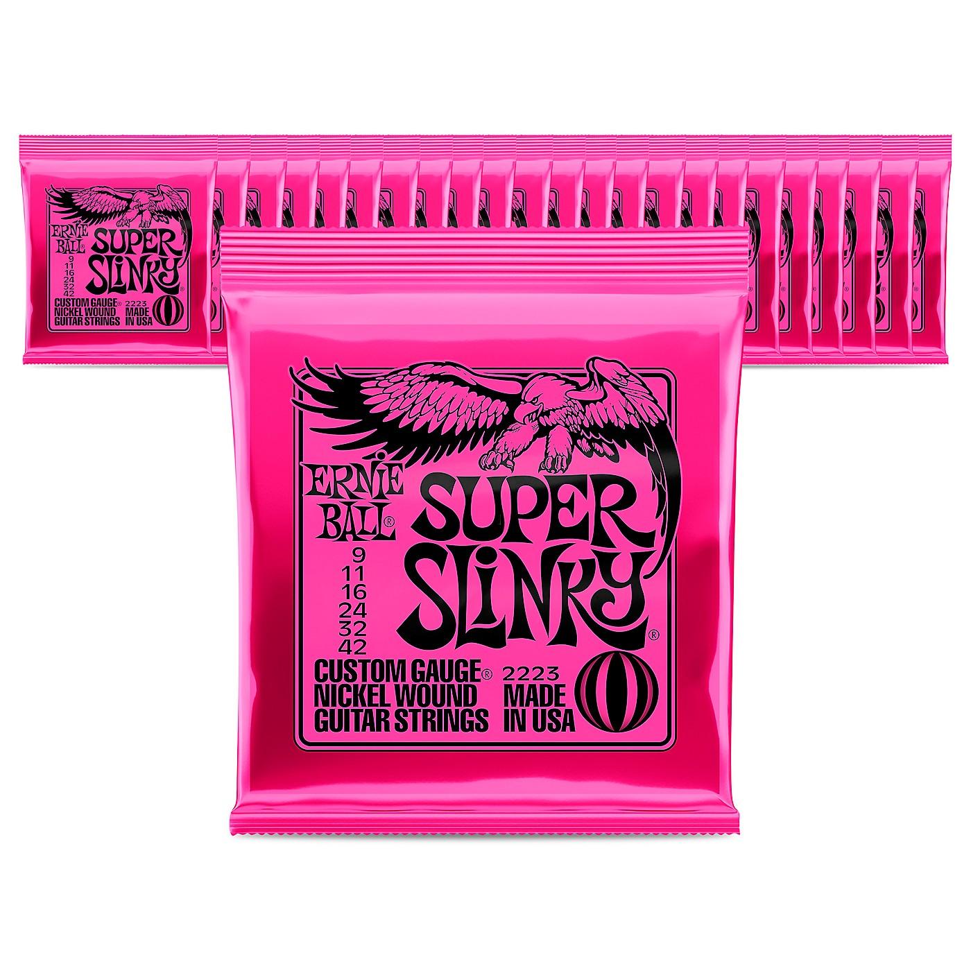 Ernie Ball 2223 Nickel Regular Slinky Electric Guitar Strings - 24 Pack thumbnail