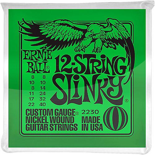 Ernie Ball 2230 Nickel 12-String Slinky Electric Guitar Strings-thumbnail