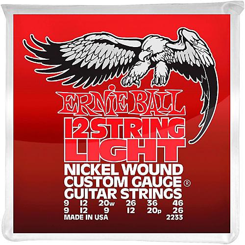 Ernie Ball 2233 Nickel 12-String Light Electric Guitar Strings thumbnail