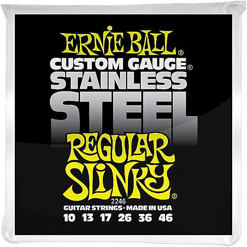 Ernie Ball 2246 Stainless Steel Regular Slinky Electric Guitar Strings thumbnail