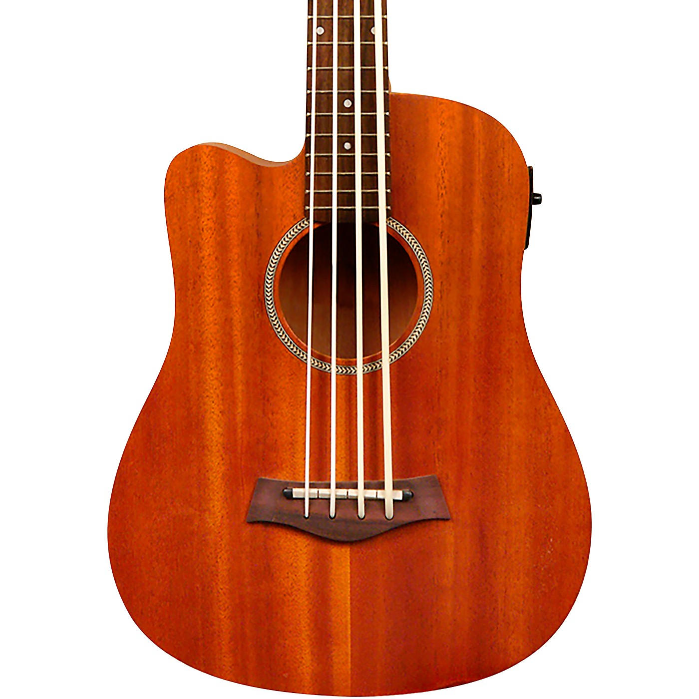 Gold Tone 23-Inch Scale Left-Handed Acoustic-Electric MicroBass with Gig Bag thumbnail