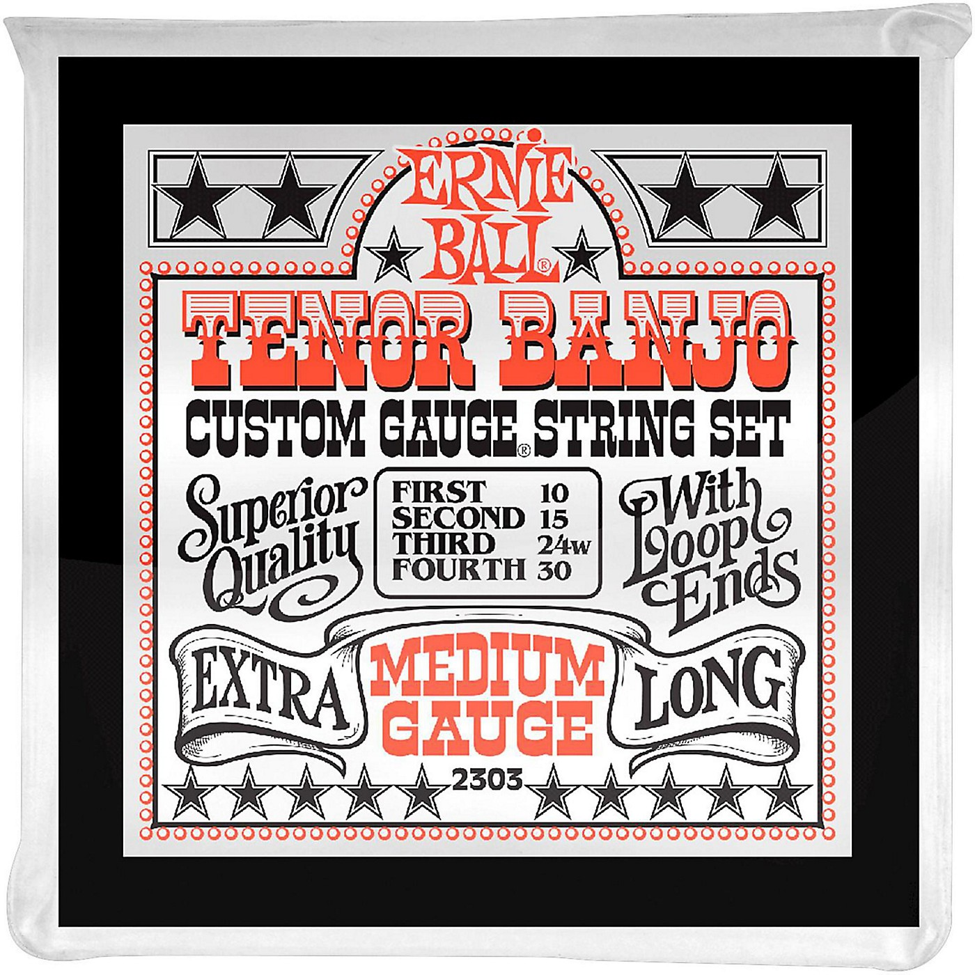 Ernie Ball 2303 Medium Gauge Tenor Banjo Strings thumbnail