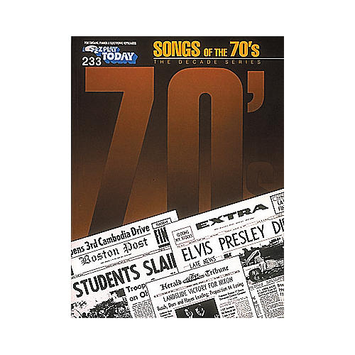Hal Leonard 233. Songs Of The 70's-thumbnail