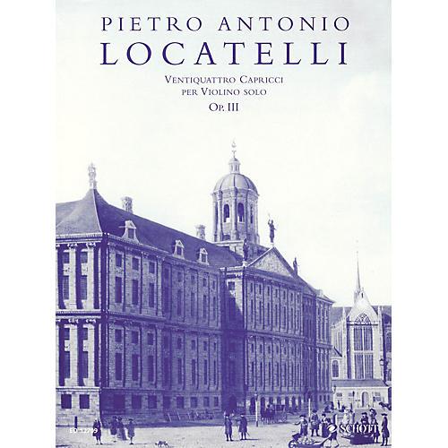 Schott 24 Capricci per Violino Solo, Op. 3 (Critical Edition Violin Solo) Schott Series thumbnail