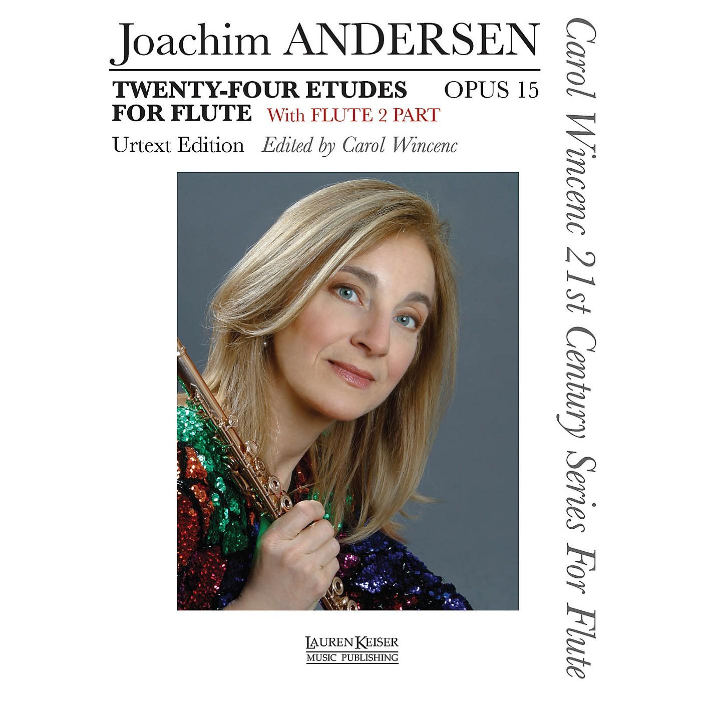 Lauren Keiser Music Publishing 24 Etudes for Flute, Op. 15 LKM Music Series thumbnail