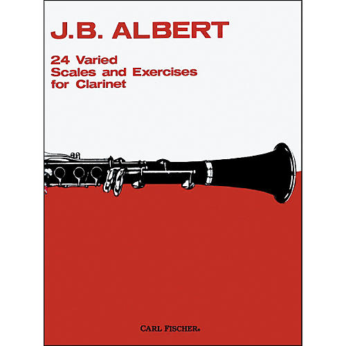 Carl Fischer 24 Varied Scales And Exercises For Clarinet thumbnail
