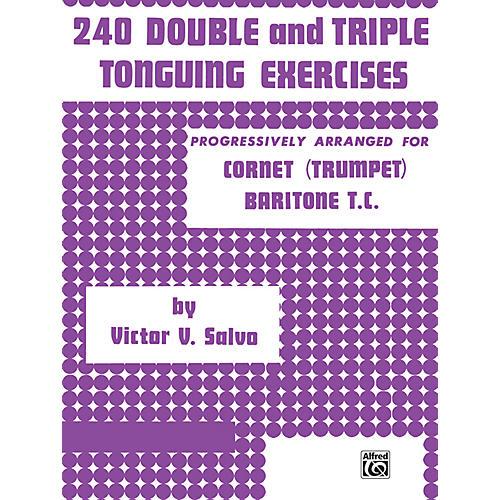 Alfred 240 Double & Triple Tonguing Exercises.-thumbnail