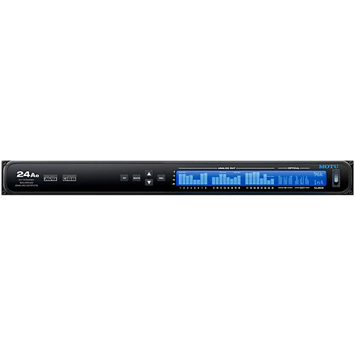MOTU 24Ao USB/AVB Ethernet audio interface thumbnail