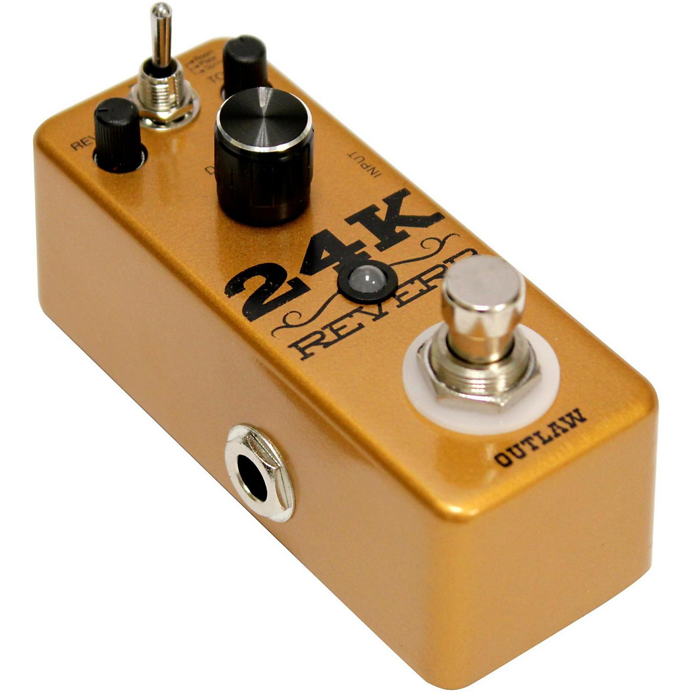 Outlaw Effects 24K Guitar Reverb Pedal thumbnail