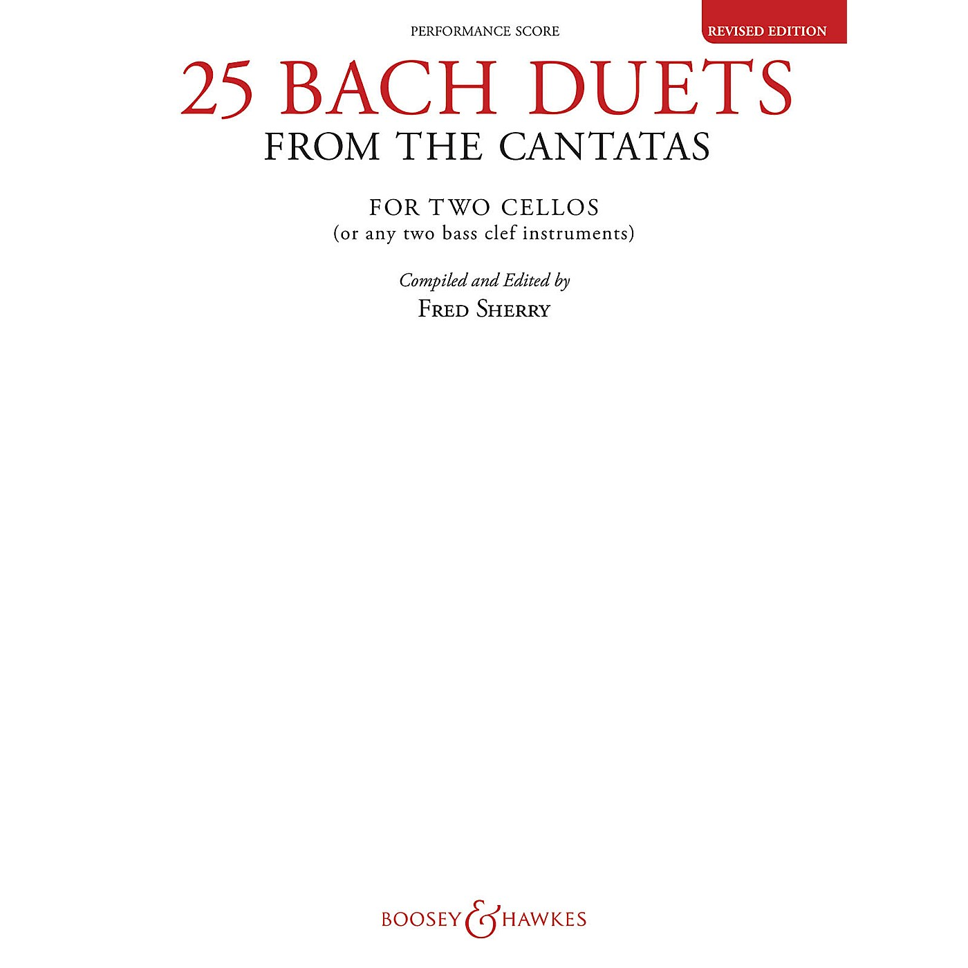 Boosey and Hawkes 25 Bach Duets from the Cantatas (Two Cellos Performance Score) Boosey & Hawkes Chamber Music Series thumbnail