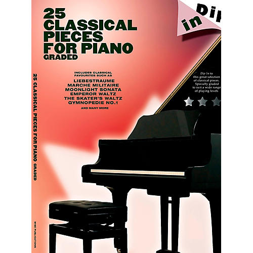 Music Sales 25 Classical Pieces For Piano Graded - Dip In Series thumbnail