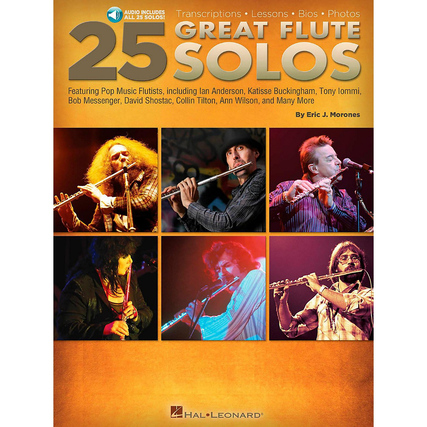 Hal Leonard 25 Great Flute Solos Book/Audio Online thumbnail