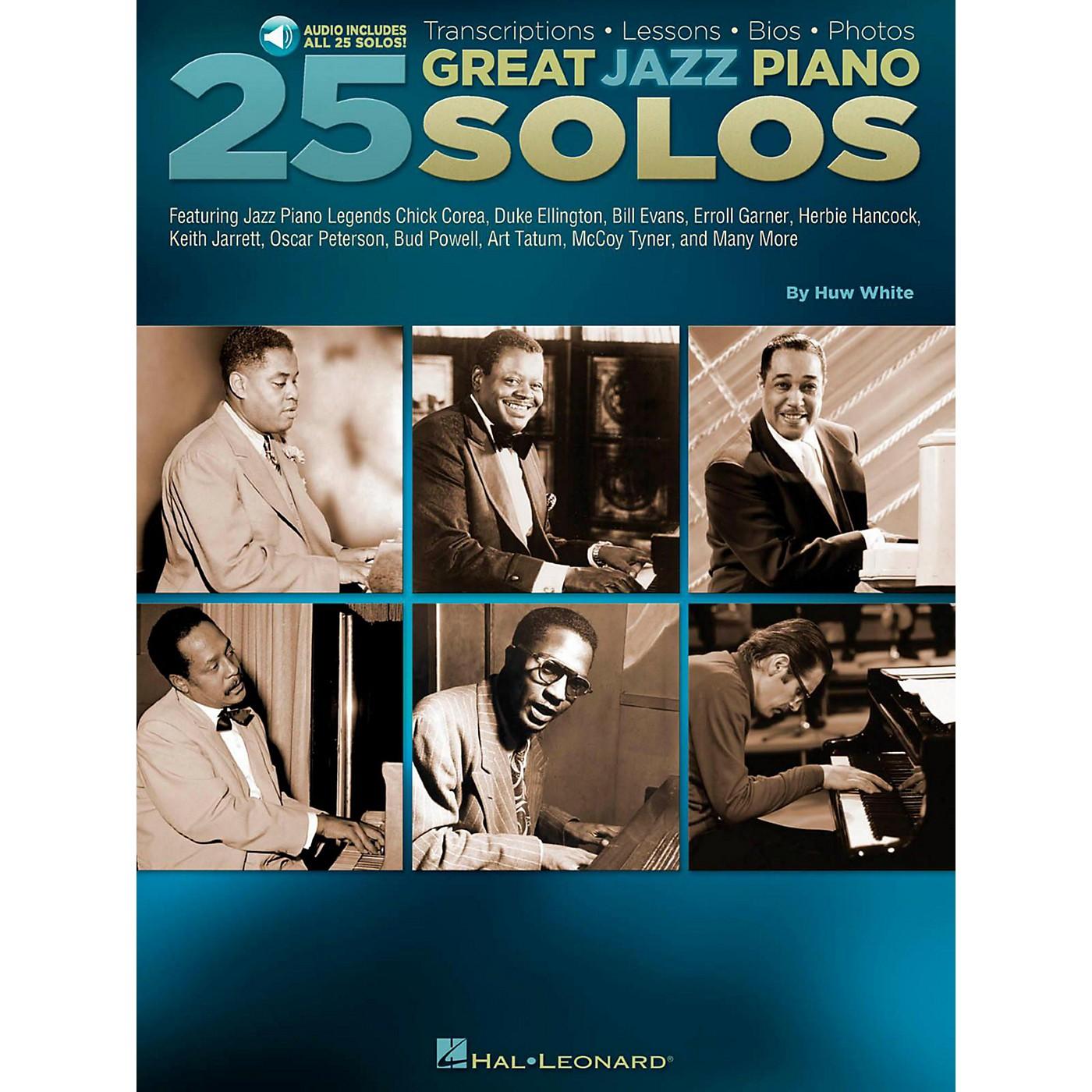 Hal Leonard 25 Great Jazz Piano Solos - Transcriptions thumbnail