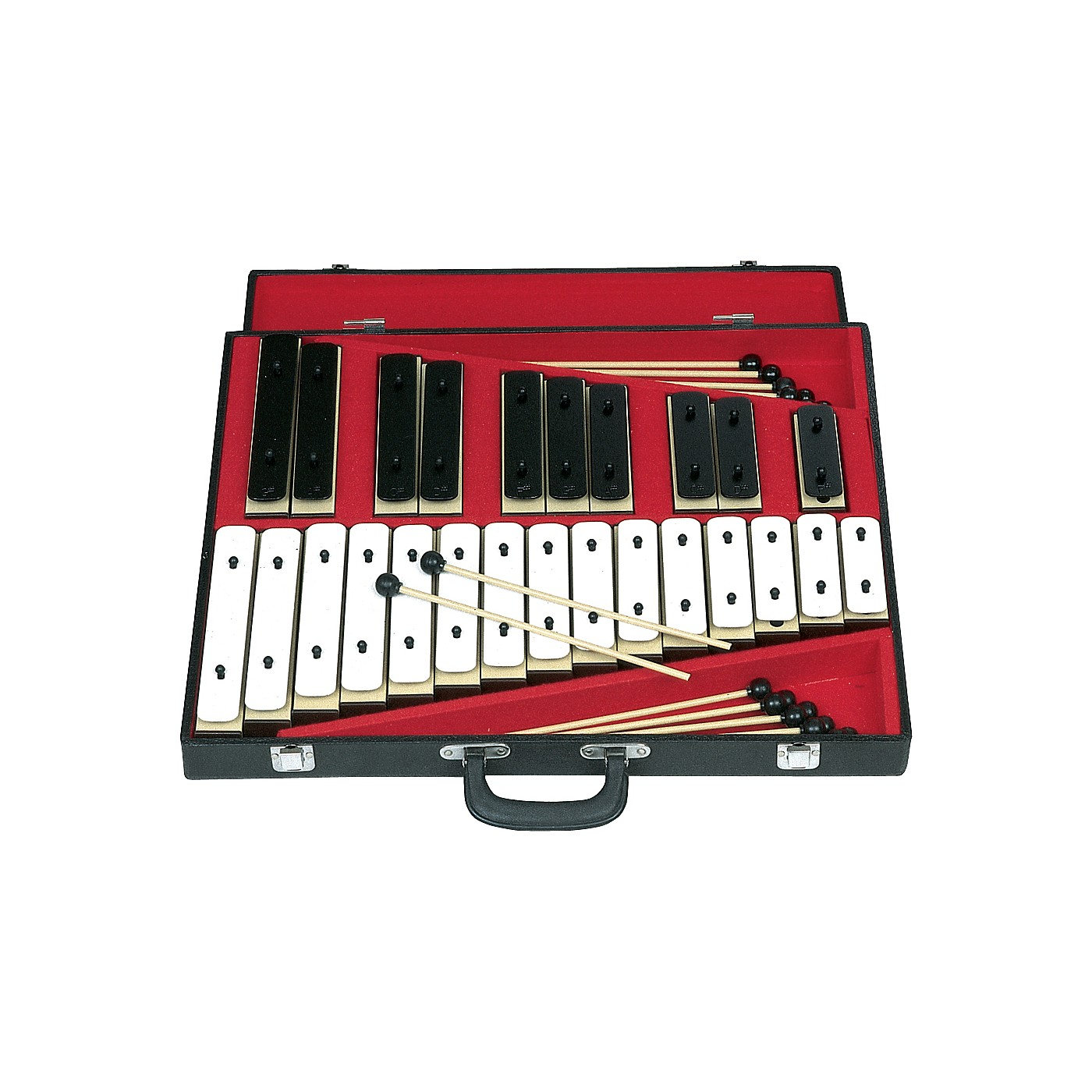 Rhythm Band 25 Note Chromatic Plastic Resonator Bell Set thumbnail