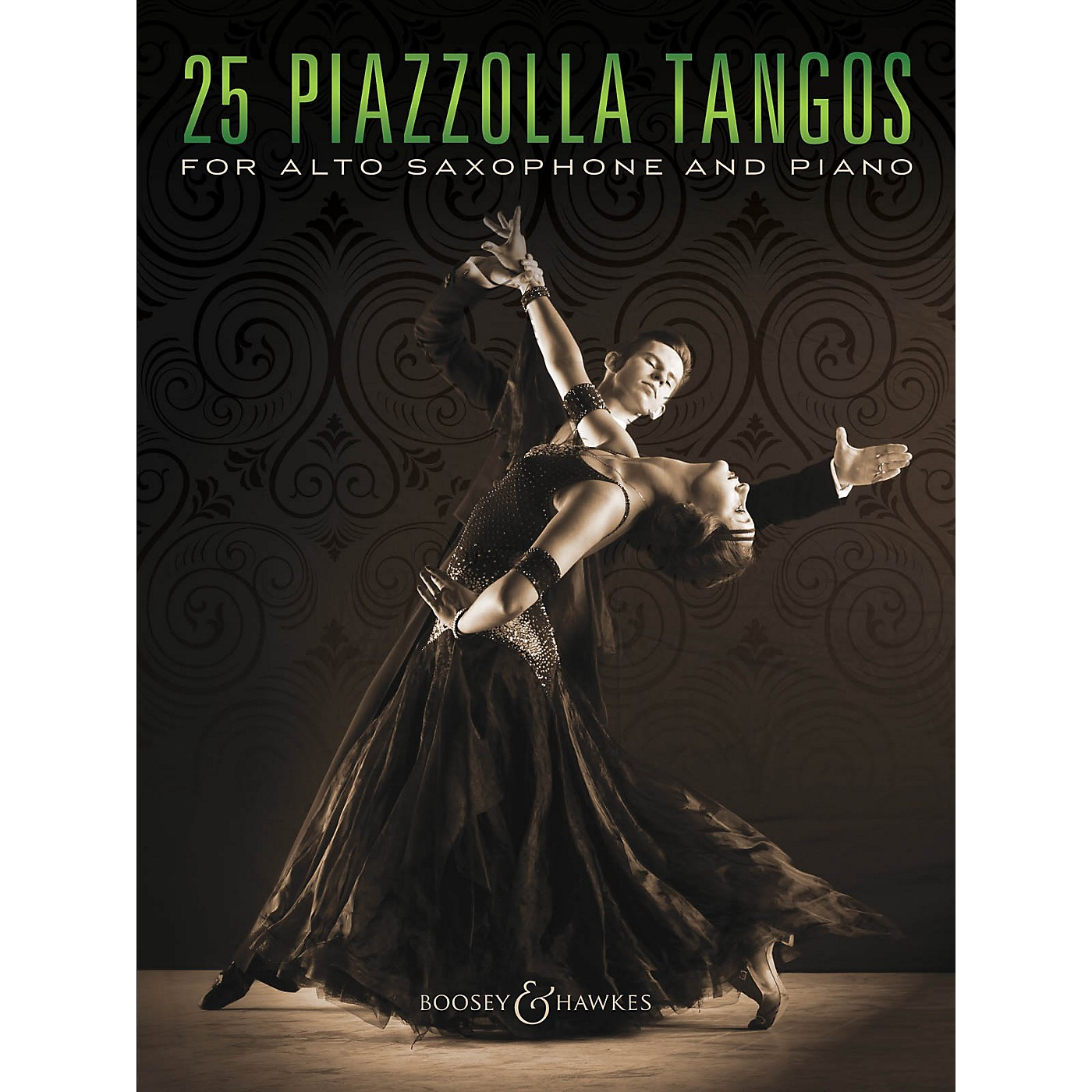 Boosey and Hawkes 25 Piazzolla Tangos for Alto Saxophone and Piano Boosey & Hawkes Chamber Music Series Book thumbnail