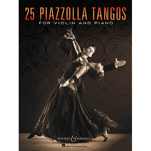 Boosey and Hawkes 25 Piazzolla Tangos for Violin and Piano Boosey & Hawkes Chamber Music Series Softcover thumbnail