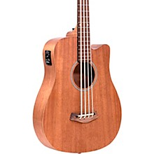 "Gold Tone 25"" Scale Acoustic-Electric MicroBass"