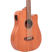 "Gold Tone 25"" Scale Fretless Acoustic-Electric MicroBass"