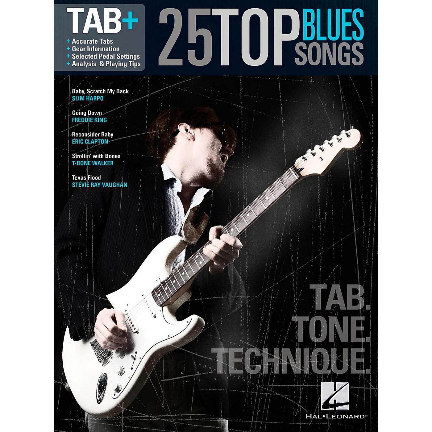 Hal Leonard 25 Top Blues Songs - Tab. Tone. Technique. thumbnail