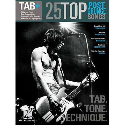 "Hal Leonard 25 Top Post-Grunge Songs""Tab. Tone. Technique. thumbnail"