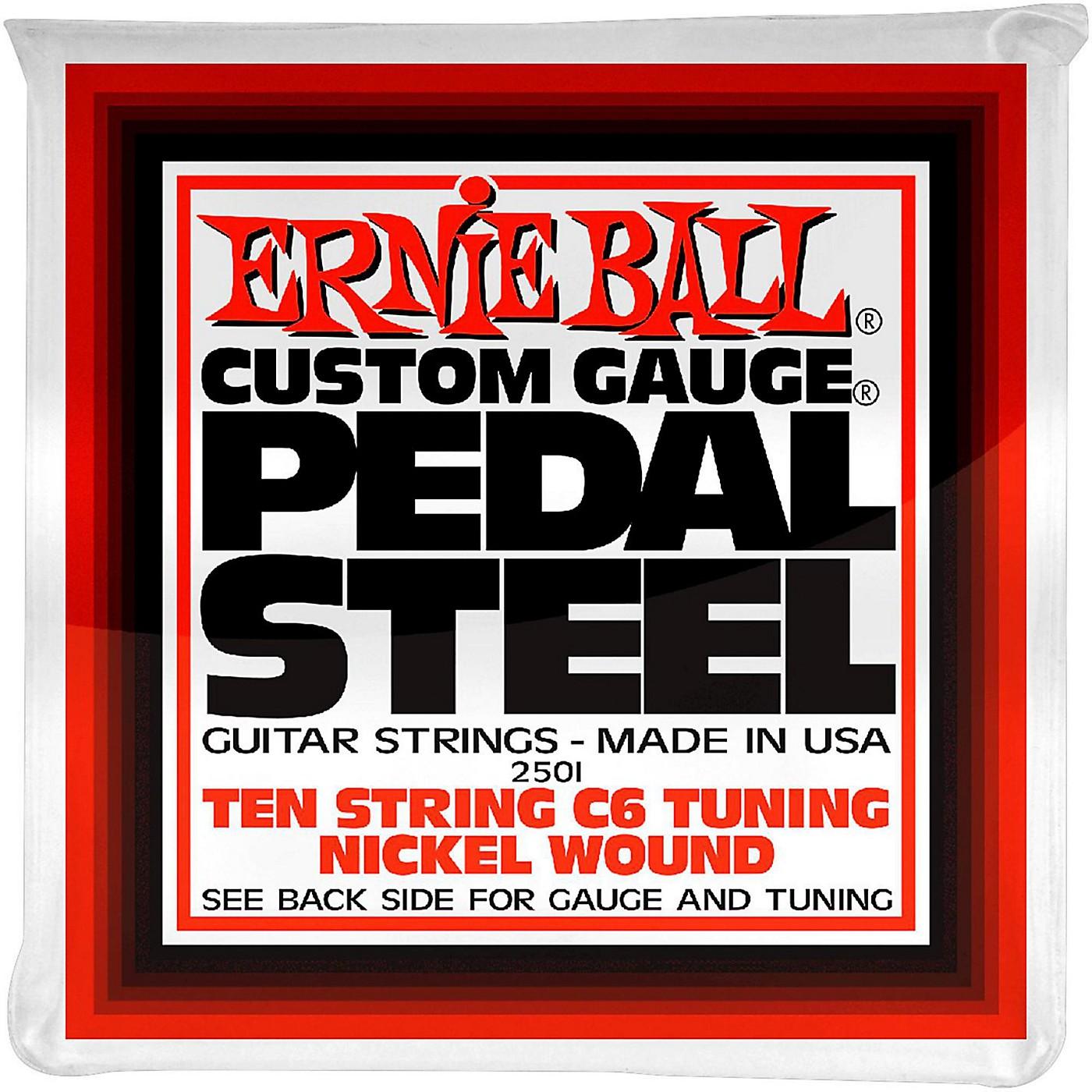 Ernie Ball 2501 10-String C6 Pedal Steel Guitar Strings thumbnail