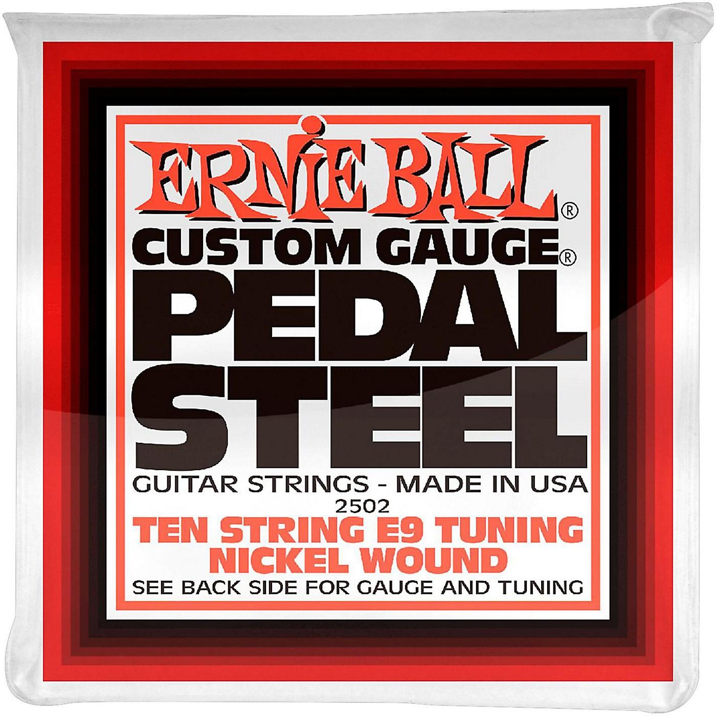 Ernie Ball 2502 10-String E9 Pedal Steel Guitar Strings thumbnail