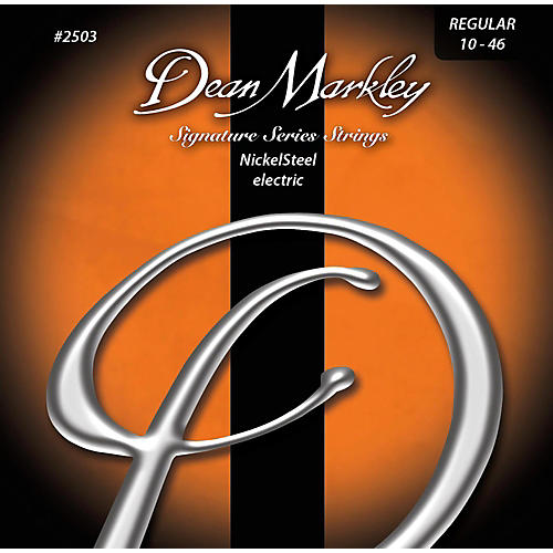 Dean Markley 2503 NickelSteel Regular Electric Guitar Strings thumbnail
