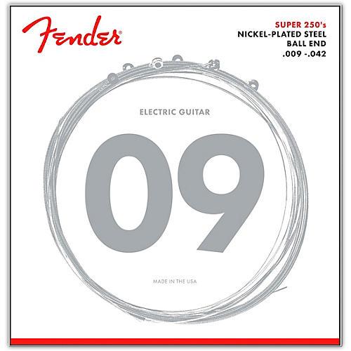 Fender 250L Super 250 Nickel-Plated Steel Electric Guitar Strings - Light-thumbnail