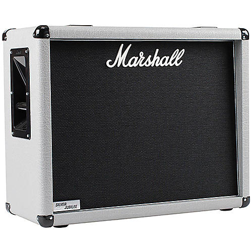 Marshall 2536 140W 2x12 Silver Jubilee Guitar Amplifier Cabinet thumbnail