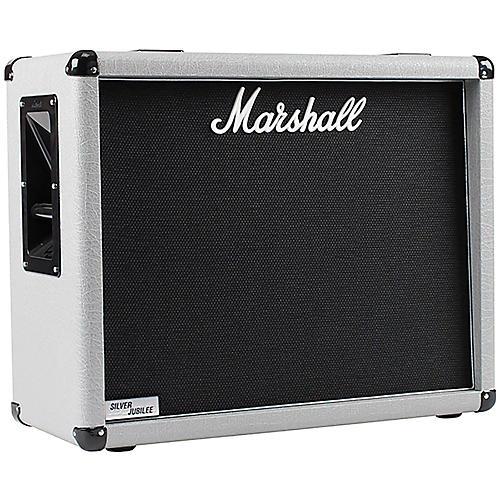 Marshall 2536 140W 2x12 Silver Jubilee Guitar Amplifier Cabinet thumbnail