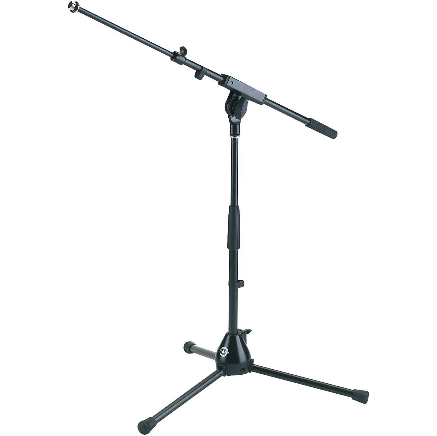 K&M 25900.500.55 Medium Height Tripod Mic Stand with Adjustable Boom thumbnail