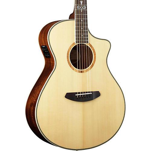 Breedlove 25th Anniversary Koa Pursuit Concert Cutaway Acoustic-Electric Guitar thumbnail